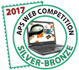 APS Web Competition 2017 Silver-Bronze Winner